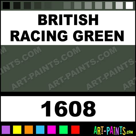 british racing green acrylic enamel paints  british racing green paint british racing