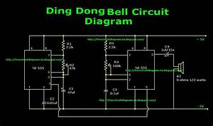 Free Circuit Diagrams 4u  Ding Dong Bell Circuit Diagram