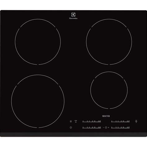 plaque chauffante cuisine plaque à induction 4 foyers noir electrolux ehh6540f8k