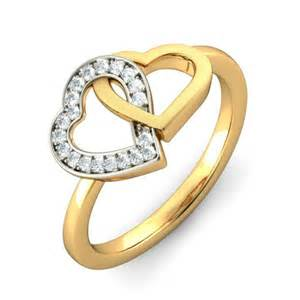 in engagement ring engagement ring in yellow gold jewelocean