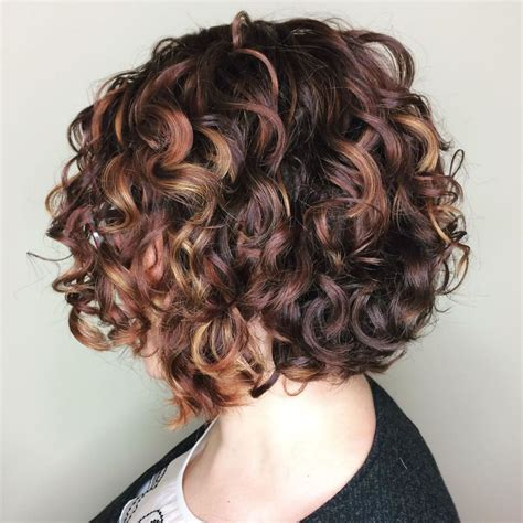 65 Different Versions of Curly Bob Hairstyle Bob haircut