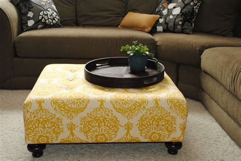 Ottoman Instead Of Coffee Table by I Like The Idea Of An Ottoman Instead Of A Coffee