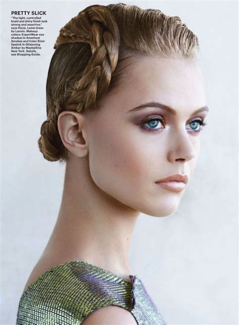 frida gustavsson  patrick demarchelier  allure march