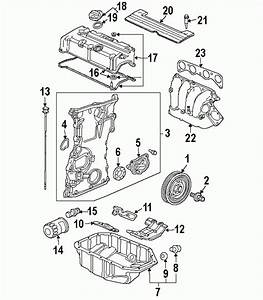 2003 Honda Accord Parts Diagram Labeled  Honda  Auto Parts Catalog And Diagram