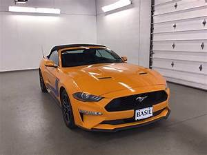 Pre-Owned 2018 Ford Mustang EcoBoost Premium RWD Convertible