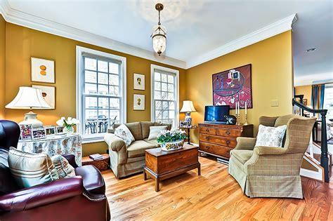 brown  mustard yellow living room modern diy art designs