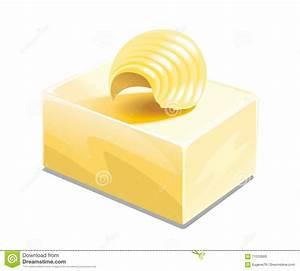 Butter illustration stock vector. Illustration of butter ...
