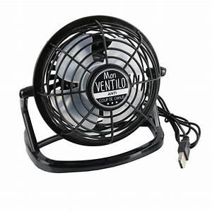 Petit Ventilateur De Bureau : ventilateur de bureau usb silencieux super insolite ~ Nature-et-papiers.com Idées de Décoration