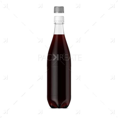 Change its design according to your needs. 1L PET Cola Soda bottle & Smart Label mockup PSD download ...