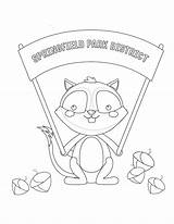 Park Coloring sketch template