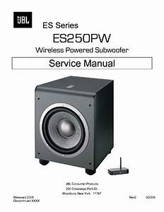 Jbl Es 250 : jbl es250pw subwoofer service manual service manual download schematics eeprom repair info ~ Orissabook.com Haus und Dekorationen