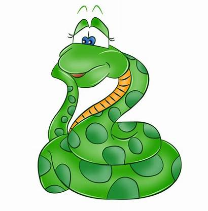 Clipart Snake Serpiente Cartoon Serpent