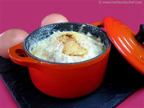 recette de cuisine œuf cocotte au bacon recette de cuisine avec photos