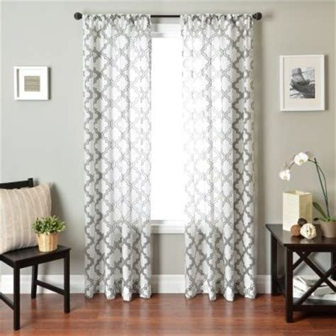 kohls sheer curtain panels curtains for the living room kohls for the home