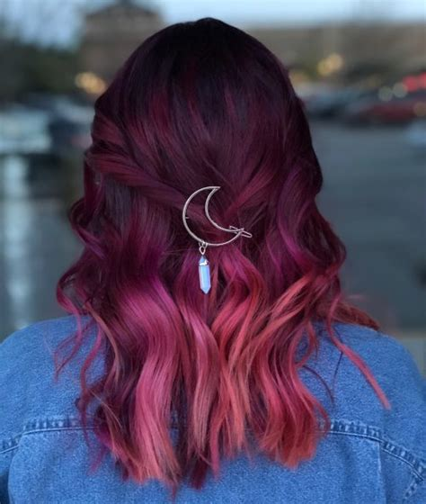 Black Hair Colour Hairstyles by 15 Best Maroon Hair Color Ideas Of 2019 Black