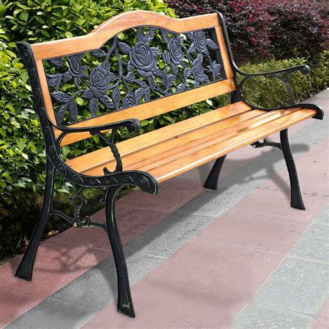 Rod Iron Benches by Wrought Iron Benches A Note Of Luxury In Landscape