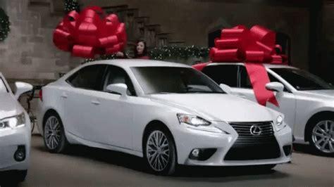 lexus christmas new car gif newcar lexus christmas discover share gifs
