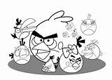 Angry Birds Coloring Pages Printable Bird 4kids Clipart Colouring Cartoon Clip Library Game Coloringme Chuck Popular sketch template