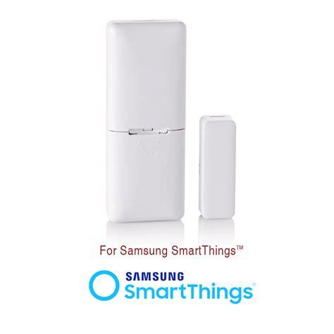 samsung smartthings garage door visonic mct 340 e wireless door window temperature sensor