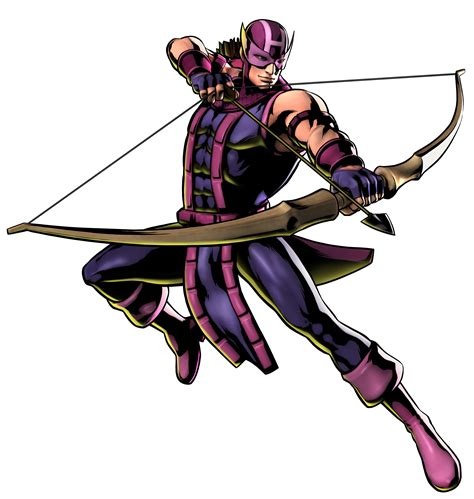 Hawkeye From Marvel Video Games Game Art