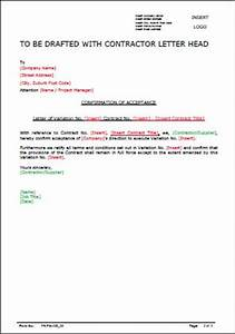 Template  Variation Approval Letter • AllSafety Management Services