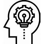 Icon Thinking Creative Transparent Idea Svg Icons