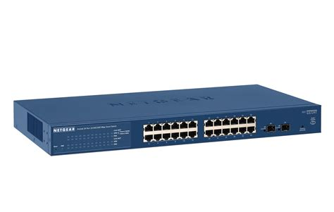 4 gigabit switch netgear prosafe gs724t 24 gigabit smart switch 10 100