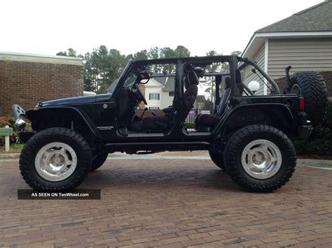 black jeep 4 door jeep wrangler 4 door black lifted www imgkid com the