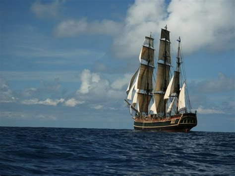 Hms Bounty Ship Sinking by Famed Ship Falls Victim To S Wrath 14 Rescued