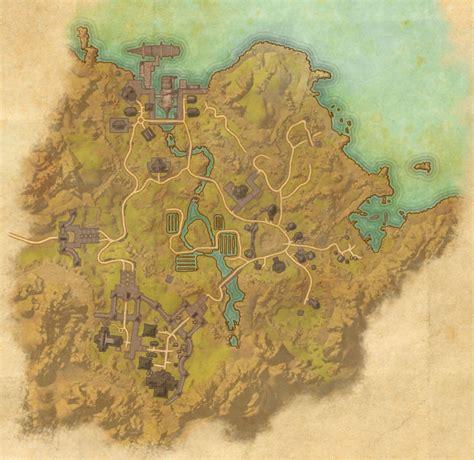 bal foyen map elder scrolls  guides