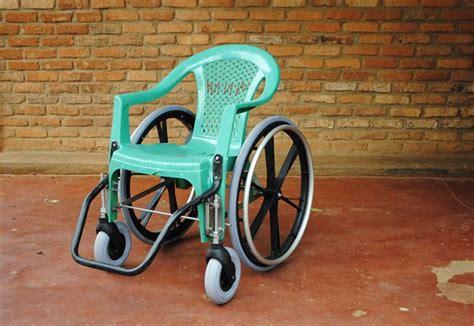 wheelchair   recycled chairs  clara romani