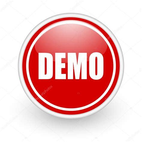 Demo Icon — Stock Photo © Alexwhite #8867228