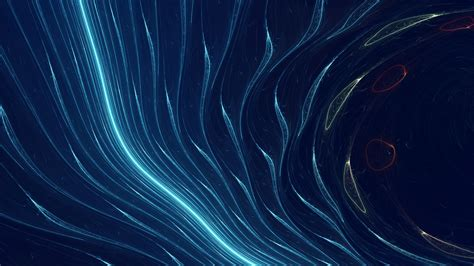 wallpaper blue waves hd  abstract