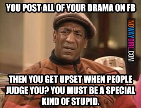 Quotes About Posting Your Drama On Facebook