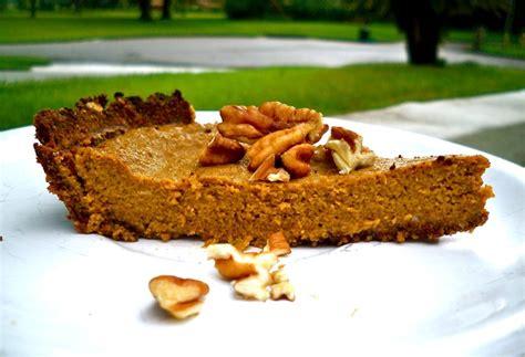 Pumpkin Pie Without Crust Healthy by Healthy Pumpkin Pie With Pecan Crust Sugar Dairy Amp Gluten