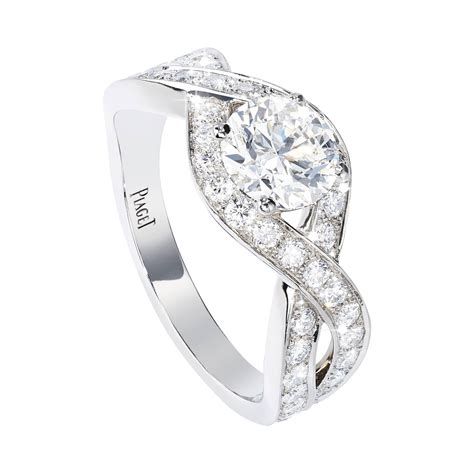 platinum diamond engagement ring g34l4d00 piaget wedding