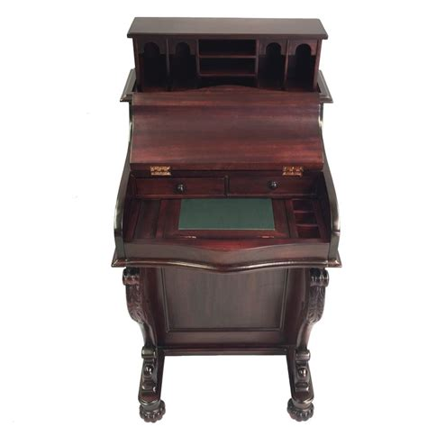 Antique Writing Desks Brisbane by Solid Mahogany Wood Davenport Writing Desk Antique