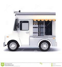 Blank Food Truck Clip Art