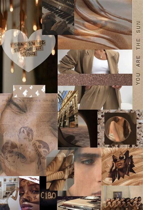 brown aesthetic wallpaper di 2020 seni kolase seni kolase