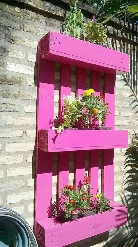 amazing recycled wood pallet planter ideas pallets designs