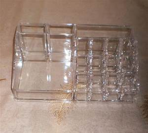 Acrylic Clear Container Makeup Case Cosmetic Storage ...