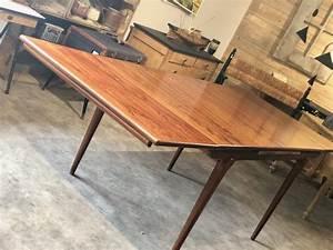 Table Scandinave Extensible : table scandinave extensible ann es 60 vintage les vieilles choses ~ Teatrodelosmanantiales.com Idées de Décoration