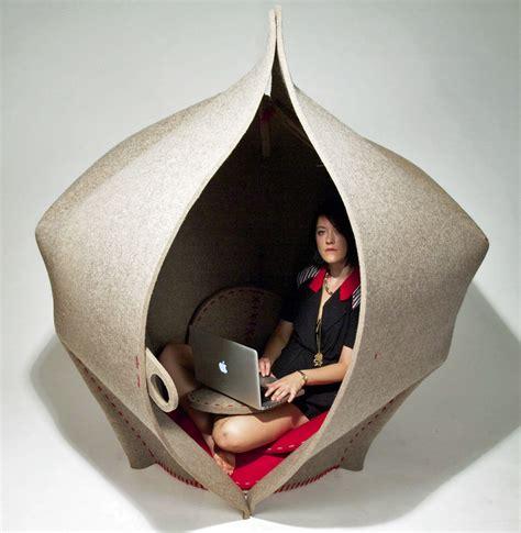 personal pod space hush hideaway  freyja sewell