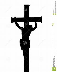 Jesus Christ Crucifiction Silhouette Stock Image - Image ...