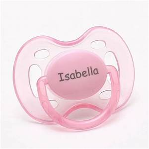 Personalized Gifts Baby Girl Pacifiers Baby Shower