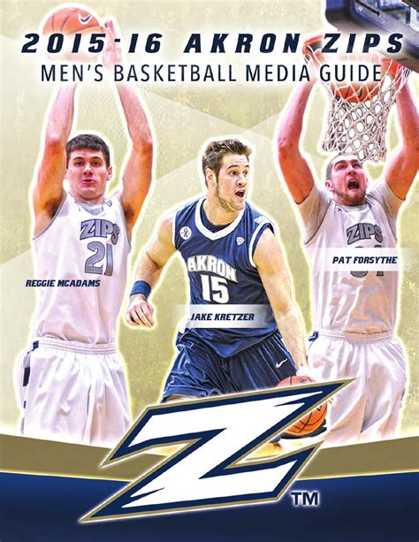 2019 16 Akron Mens Basketball Media Guide By Akron Zips