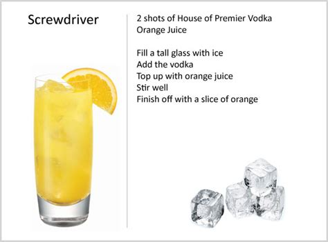 screwdriver recipe screwdriver drink wiki