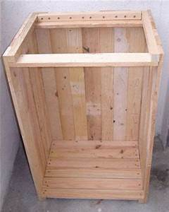 visuel de l39assemblage des trois panneaux meubles With assemblage de meubles en bois