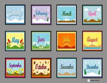 days   week  months   year sequence boards
