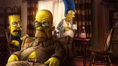 Simpson Bart Simpsons Wallpapers Bad Marge Homer